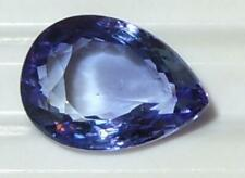 2.81ct Attractive Bright Blue Purple Tanzanite Pear Cut SPECIAL