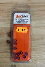 """GForce Rondelles M3 """"violet"""" pour vis à Tête conique Aluminium 10pcs GF-0405-032"""