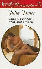James, Julia .. Greek Tycoon, Waitress Wife