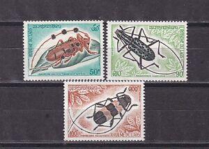 laos 1974 insects,MNH Sc 253/5 set        d2046