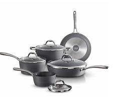 Tramontina Gourmet 9-Piece Slate Gray Induction Aluminum Cookware Set