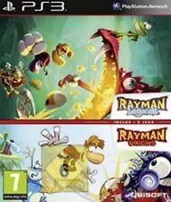 Playstation 3 Rayman Origins + Rayman Legends allemand guterzust.