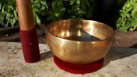 CAMPANA TIBETANA ORIGINALE 7 metalli bronzo da 50 a 10 centimetri DEWA NEPAL