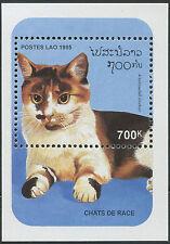 LAOS Bloc N°131 ** Bf Chat, 1995 , Cat Sheet SC# 1236 MNH