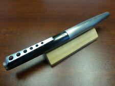 MONTBLANC Carrera Fountain Pen / Nib-Size M = medium / ANTHRACITE & STEEL