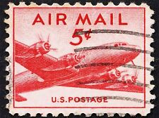 POSTAGE STAMP USA VINTAGE SKYMASTER PHOTO ART PRINT POSTER PICTURE BMP1418A