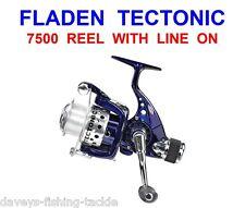 FLADEN TECTONIC 7500 REEL+LINE FOR SEA FISHING BASS PIKE PLUG SPINNING ROD LURES
