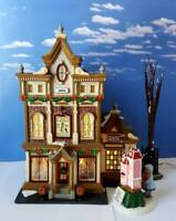 DEPT 56 Christmas in the City VICTORIA'S DOLL HOUSE!  Doll in window rotates!
