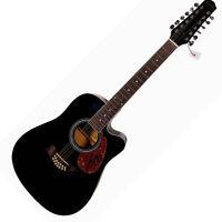 Josh Groban Autographed Signed 12-String Acoustic Guitar UACC RD COA AFTAL