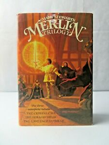 THE MERLIN TRILOGY by Mary Stewart Hardcover 1980 1st First Edition MINTY