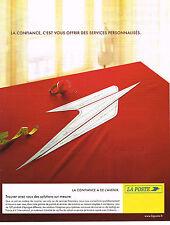PUBLICITE ADVERTISING 015  2004  LA POSTE  confiance  et avenir  3