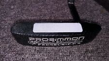 Prosimmon PEGASUS P.P.3 putter. Used. Right hand. Carbon look. 35 inches.   3175