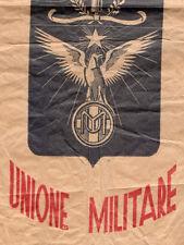 WW1 WW2 GRANDE BUSTA CARTA CON STEMMA LOGO UNIONE MILITARE REGIO ESERCITO doc2