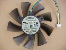 93mm VGA Video Card Fan Replacement 40mm GTX 580 570 HD6970 T129025SU 0.38A 184