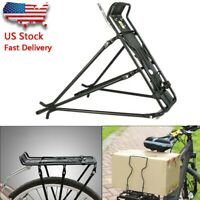 Bicycle Bike Aluminum Bicycle Frame Rear Luggage Rack Shelf Adjustable