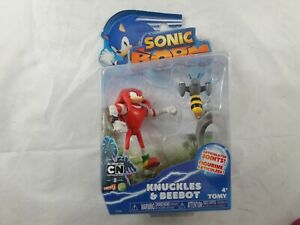 Sonic Boom Knuckles & Beebot Figures Sega Sonic the Hedgehog by Tomy