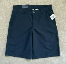 Chaps Boys Uniform Shorts Navy Blue Size 4, 7, 12, 14 Nwt New $28