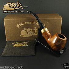 "Mr.Brog Pfeife Tabakpfeife BRUYERE Nr.124 ""BENT ARMY"" Nuss - klassik pipe pipa"