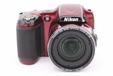 Nikon COOLPIX L820 16.0MP Digital Camera - Red - No Accessories