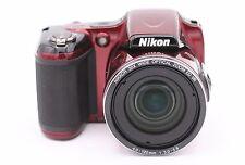 Nikon Coolpix L820 16.0mp Cámara Digital -rojo- No Accesorios