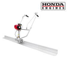 Surface Finishing Concrete Screed 7'ft Tamper Blade & Honda Gx35 Gas Engine Kit