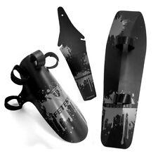 3pcs/set Bike Front/Rear/Down Wings Cycling Tube Bicycle Fender Mudguard UK