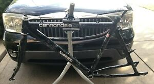 "CANNONDALE 3.0 26ER MOUNTAIN TOURING BIKE FRAME & FORK 18"" RARE COSMIC WEB"