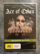 Ace Of Cakes -  Season 7 - 2 DVD Set - Brand New & Sealed - Fast Free Postage