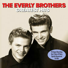 Everly Brothers GREATEST HITS Best Of 75 Songs COLLECTION New Sealed 3 CD