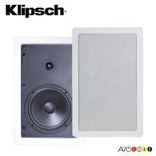 """Klipsch Reference Series R-1650-W 6.5"""" In-Wall Speaker, 2-Way 140 Watts Speaker"""