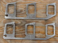 "Slant 6 Six Dodge Plymouth Mopar 225 Exhaust Manifold Header Flanges 1/2"" thick"