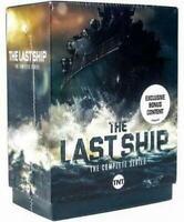 The Last Ship The Complete Series Seasons 1-5 (DVD, 15-Disc Box Set) NEW USA !!!