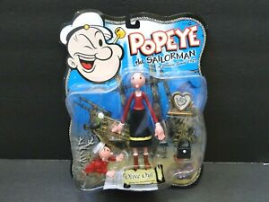 2001 Mezco Popeye the Sailorman: Olive Oyl Figure