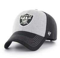 Las Vegas Raiders hat cap '47 Brand Black logo NFL adjustable nwt new