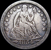 1854-O Seated Liberty Dime ---- Type Coin US Coin Nice  ----  #G478