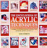 Encyclopedia of Acrylic Techniques: Unique A-Z Directory Learn to Draw Art Book