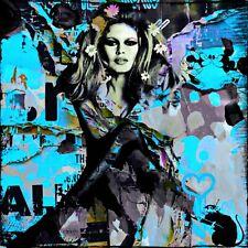 Motiv Juno Vintage Collage// Pop Art//Malerei//StreetArt//Leinwand//Kunstdruck//XXL
