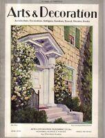 1930 Arts & Decoration June - Houses in Goldens Bridge, Westchester, Ossining NY
