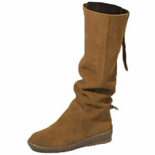 Suede Medium Width (B, M) Pull On Casual Shoes for Women