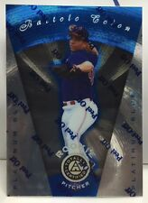 Bartolo Colon 1997 Pinnacle Totally Certified PLATINUM BLUE Parallel RC #'d/1999
