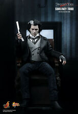 New Sealed in Brown Box Hot Toys Sideshow Sweeney Todd Johnny Depp mms149 1/6
