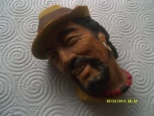 Vintage Bossons head of a man