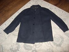Men's 1 Black wool winter jacket by Claiborne outerwear Size: L/G Used