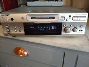 Sony MDS-S707 Minidisc Player/Recorder Deck Hi-fi Separates Mini Disc MD