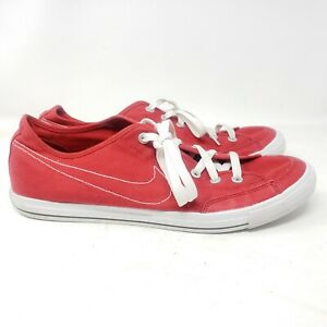 Nike  Go Canvas Skate Sneakers Red Mens Size 13 437530-600
