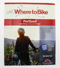 Where to Bike in Portland: Best Biking in City and Suburbs Book Maps NEW