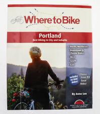 Where to Bike in Portland: Best Biking in City and Suburbs Book Maps New