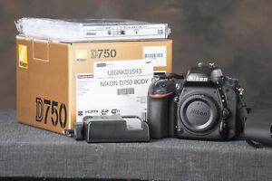 Nikon D750 Digital SLR Camera - Body Only Used