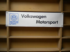 Volkswagen Motorsport Classic BANNER VW Golf Racing