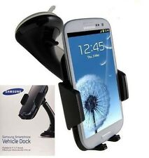 Genuine Samsung Galaxy Note 5 4 3 2 Vehicle Car Dock Holder Cradle ECS-K200BEG